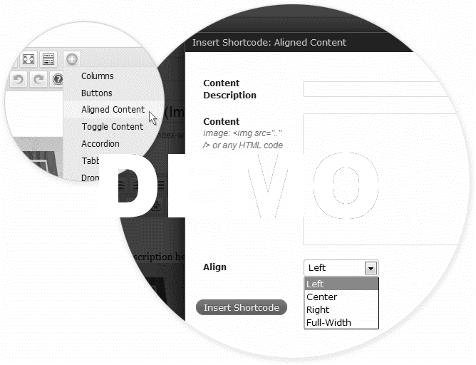 shortcodes-aligned